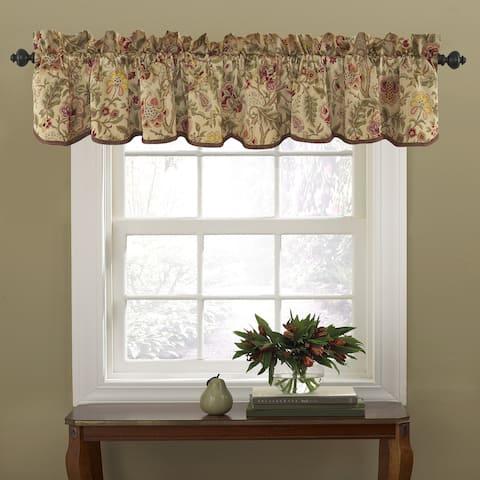 Waverly Imperial Dress Curtain Valance - 50x15