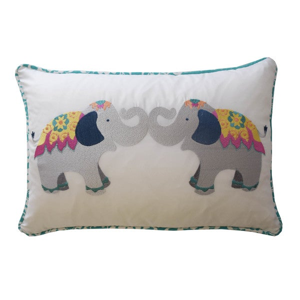 Waverly Kids Bollywood Elephant Decorative Accessory Pillow