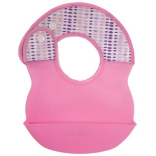 Summer Infant Deluxe Bibbity Rinse And Roll Bib - Pink