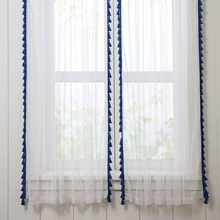 VCNY Home Yeehaw Sheer Curtain Panel