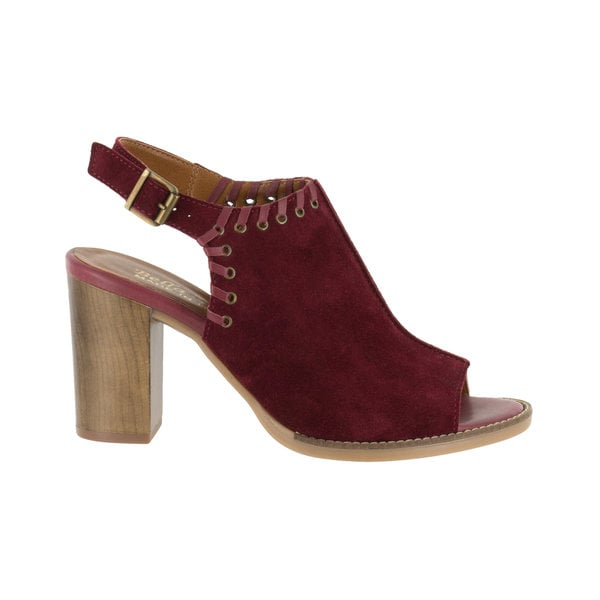 Bella Vita Women's Ora-Italy Peep Toe Pump (Bordeaux Italian Suede) - Free  Shipping Today - Overstock.com - 23018206