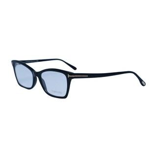 TOM FORD Frame FT5357  001- Optical Unisex Shiny Black Frame Clear Lens Glasses