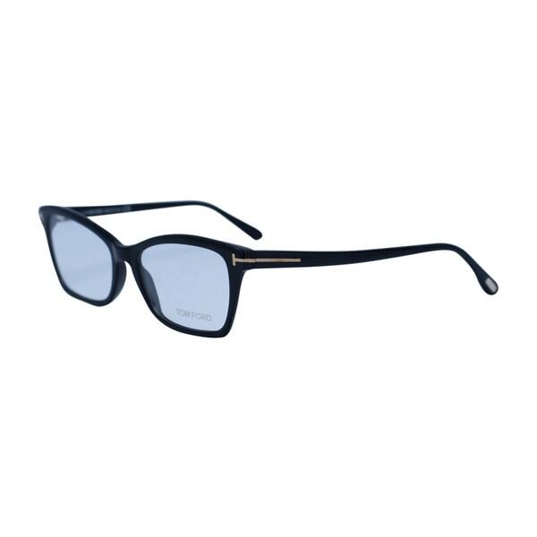 942f30d74be TOM FORD Frame FT5357 001- Optical Unisex Shiny Black Frame Clear Lens  Glasses