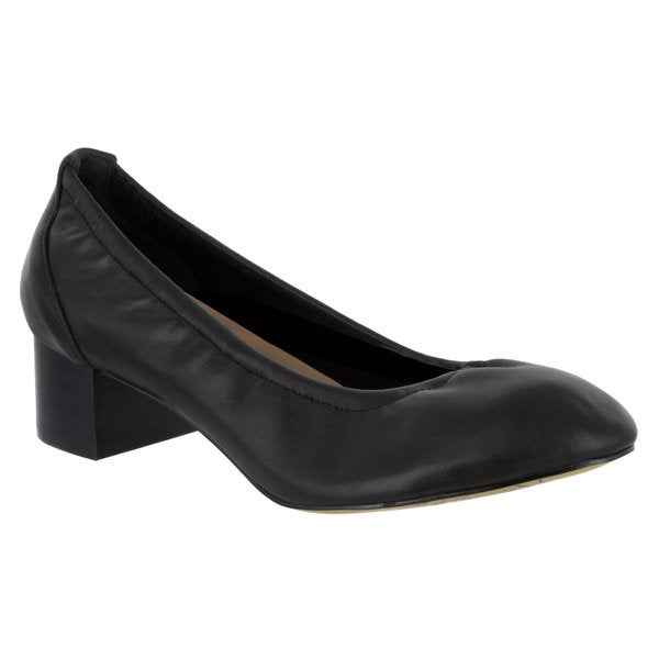 33536078929 Shop Bella Vita Women s Mattie Pump (Black Leather) - Free Shipping ...