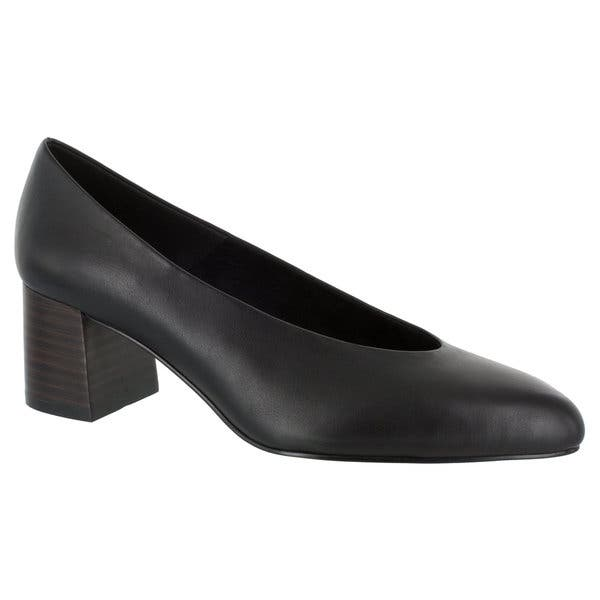 7aafefab59cac Shop Bella Vita Women's Jensen Pump (Black Leather) - Free Shipping ...