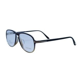 TOM FORD Frame FT5380 -F 005 - Optical Unisex Black Frame Clear Lens Glasses