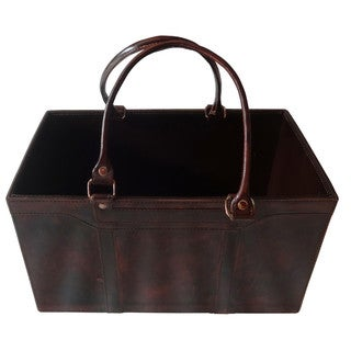 Dark Brown Finish Basket