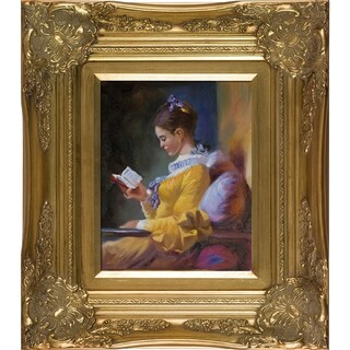 Jean-Honore Fragonard The Reader Hand Painted Oil Reproduction