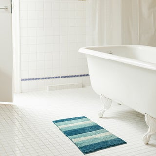 RT Designers Collection Ombre Microfiber Bath Rug