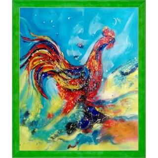 Sanjay Punekar Good Morning Hand Painted Oil Reproduction