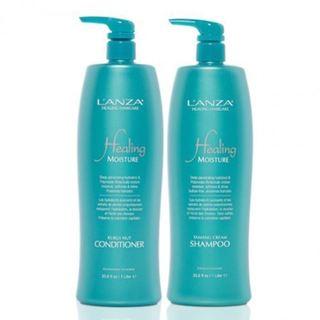 L'ANZA Healing Moisture Tamanu Cream 33.8-ounce Shampoo & Kukui Nut Conditioner Duo