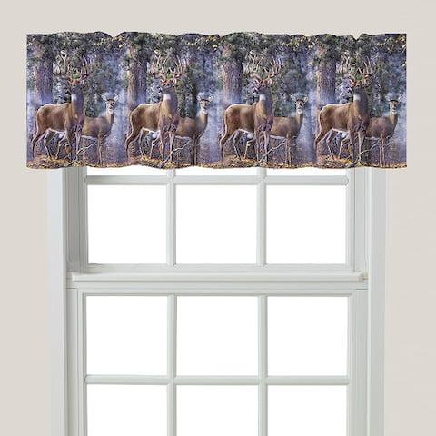 Laural Home Majestic Deer Window Valance