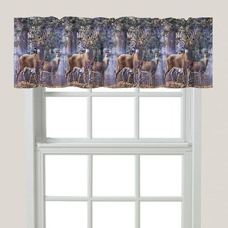 Laural Home Majestic Deer Window Valance