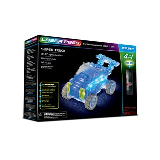 Laser Pegs Super Truck 4-in-1 Building Set