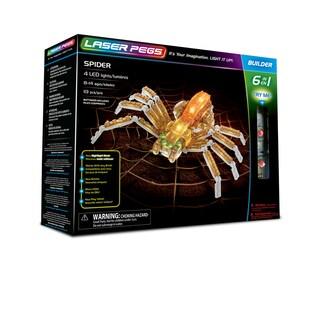 Laser Pegs Spider 6-in-1 Building Set