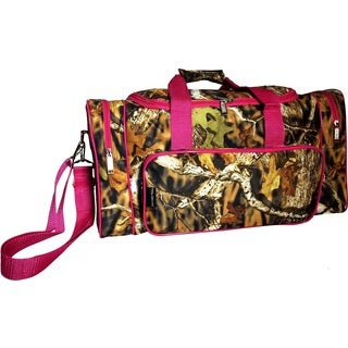 Karriage-Mate Camouflage 20-inch Carry On Duffel Bag