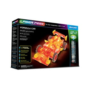 Laser Pegs Formula Car 12-in-1 Building Set