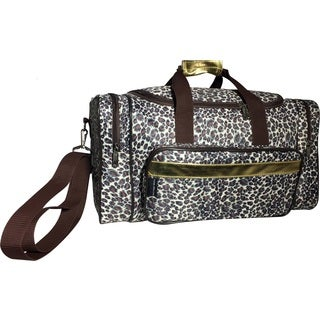Karriage-Mate Leopard 20-inch Carry On Duffel Bag