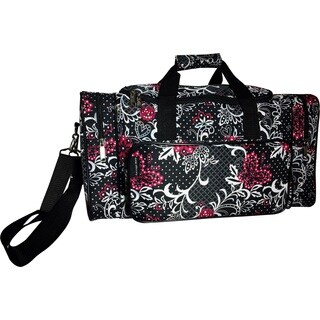 Karriage-Mate Paisley and Butterfly 20-inch Carry On Duffel Bag