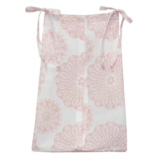 Cotton Tale Sweet and Simple Pink Diaper Stacker