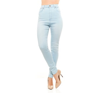 Red Jeans Women's Lynn High Waist Soft Denim Skinny Jeans