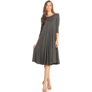 Women's Charcoal Loose Dress