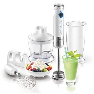 Sencor White Hand Blender with Accessories