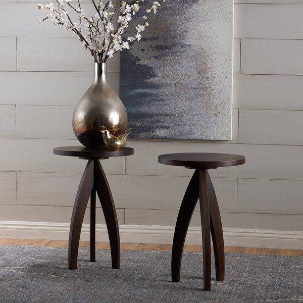 Bristol Mango Wood End Table (Set Of 2) By Christopher Knight Home