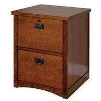 Mission Park 2 Drawer File Cabinet