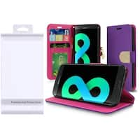Insten Purple Leather Case Cover with Stand/Wallet Flap Pouch/Diamond/Photo Display For Samsung Galaxy S8 Plus S8+