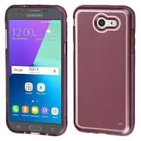 Insten Rose Gold TPU Rubber Candy Skin Case Cover For Samsung Galaxy Amp Prime 2/Express Prime 2/J3 (2017)/J3 Emerge/J3 Prime