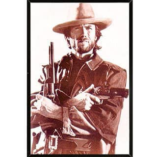 Clint Eastwood Poster with Choice of Frame (24x36)