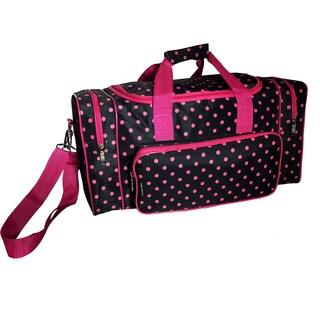 Karriage-Mate Pink Dot 20 inch Duffel Bag