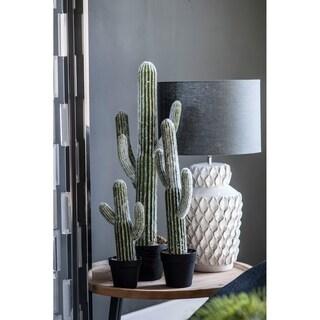 """8x5x24.5""""H Potted Faux Saguaro Cactus"""