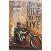 Yosemite Home Decor Rider I Original Hand-Painted Wall Art