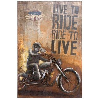 Yosemite Home Decor Rider I Original Hand-Painted Wall Art