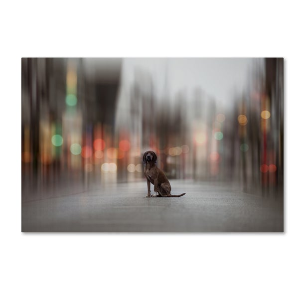Heike Willers ' The Light Lies Down On Broadway' Canvas Art