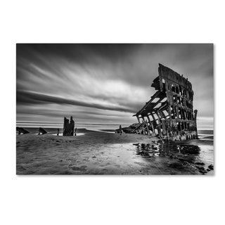 Lydia Jacobs 'The Wreck Of The Peter Iredale' Canvas Art