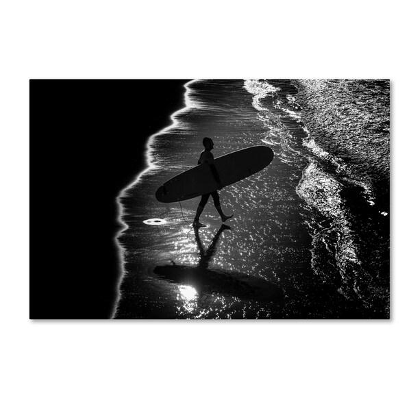Massimo Della Latta 'Surf' Canvas Art
