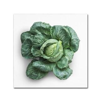 Johanna 'Green Vegetable' Canvas Art