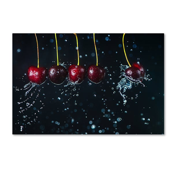 Dina Belenko 'Newton's Cradle' Canvas Art