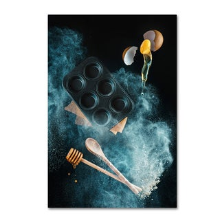 Dina Belenko 'Kitchen Mess Honey Muffins' Canvas Art