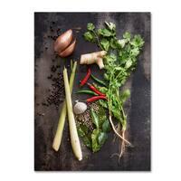Vegetables 'Vegetables' Canvas Art