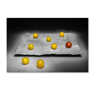 Christophe Verot 'The Game' Canvas Art