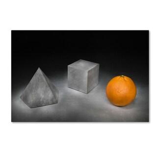 Christophe Verot 'Platonic Solids' Canvas Art