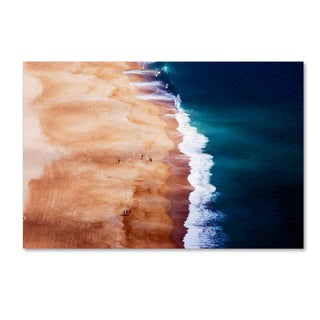 cbomersphotography 'Silver Coast' Canvas Art