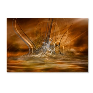 Willy Marthinussen 'The Rising' Canvas Art