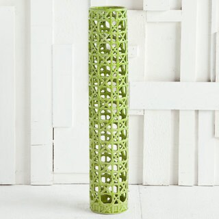 Mercana Lempall (large) Green Ceramic Vase