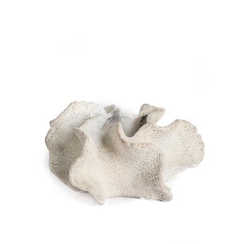 Mercana Balsam I White Ceramic Vase