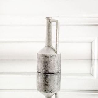 Mercana Burton (Small) Grey Ceramic Vase